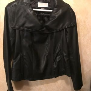 Michael Kors Leather Jacket - new with tags